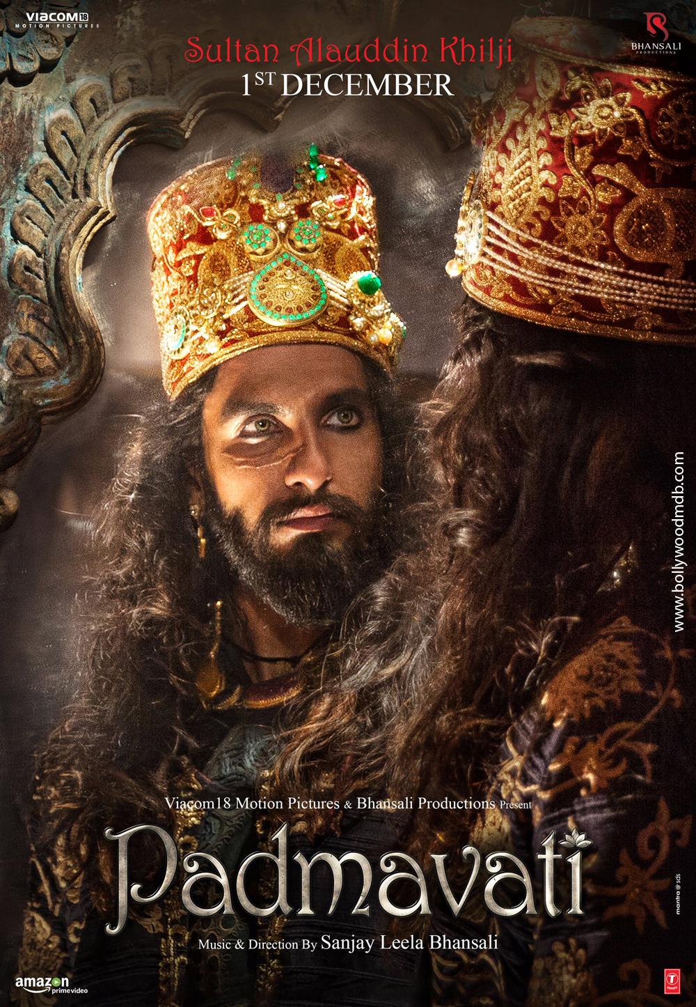 Padmaavat (2018) BluRay 720P Hindi x264 ESub