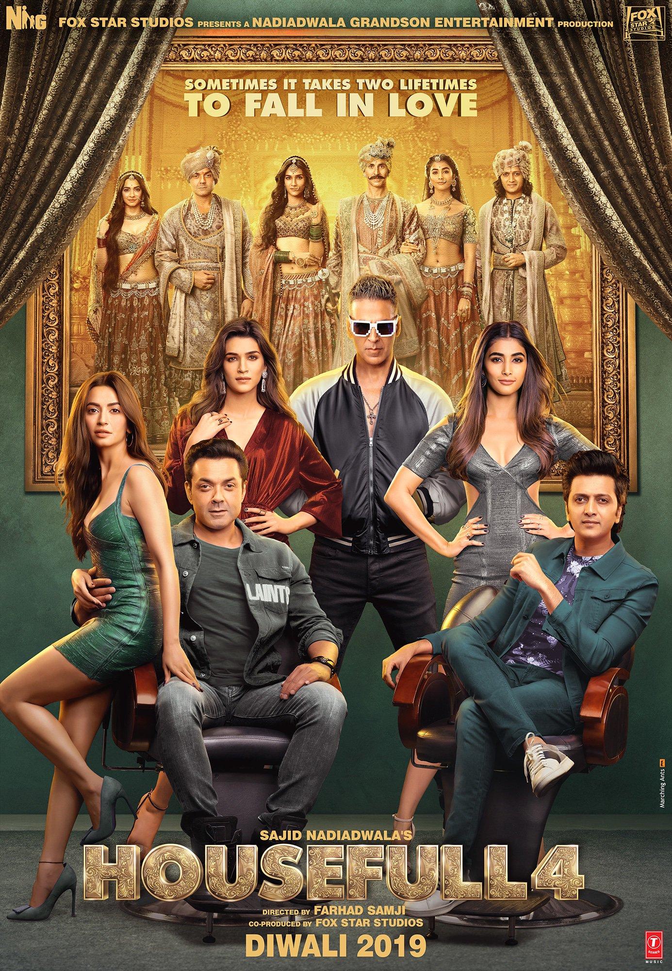 HouseFull 4 (2019) HQ Hindi PRE-DVD 720p 480p x264 | Full Movie