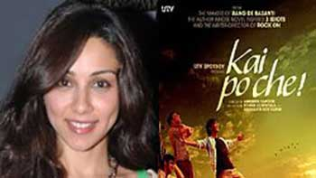 Amrita Puri Gets Attention On Sets Of 'Kai Po Che', Enjoys It.