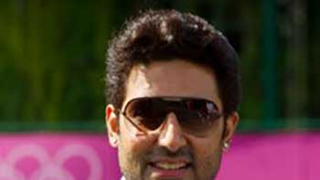 As Brand Ambassador of Omega, Abhishek Bachchan Attends Sports Events at London Olympics 2012.