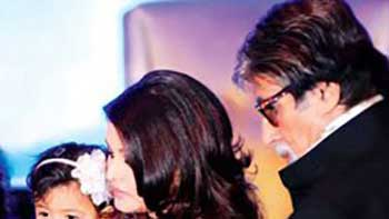 Big B Practices What He Preaches - Takes Granddaughter Aaradhya for Polio Vaccine Drops
