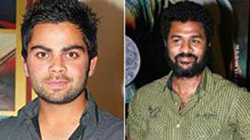 Is Prabhu Deva Planning The Launch Of Virat Kohli In Bollywood?