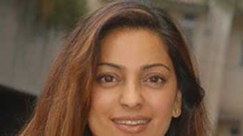 """Juhi Chawla Tweets About Commencement OF """"Gulab Gang' Shooting."""