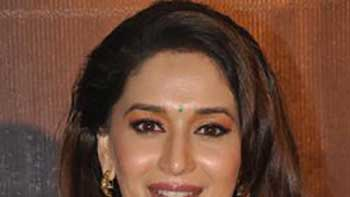 Madhuri Completes Her 'Gulab Gang' Schedule.