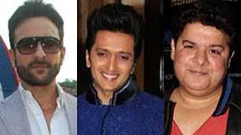 Saif & Riteish Team up for Sajid's Next
