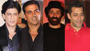 Shahrukh Khan, Akshay, Sunny in competition to Salman this Eid