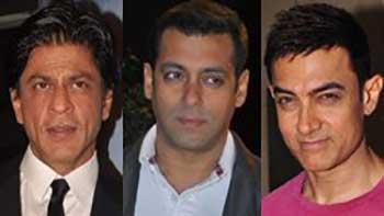 Shahrukh Khan Shakes His Legs with Salman & Aamir Khan