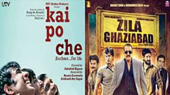 The second day box office report of Zila Ghaziabad and Kai Po Che
