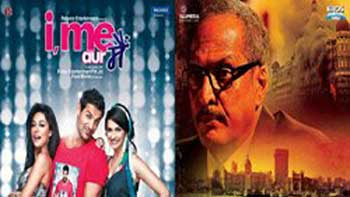 Third Day Box Office Collection for 'The Attacks of 26/11' and 'I,Me Aur Main'.