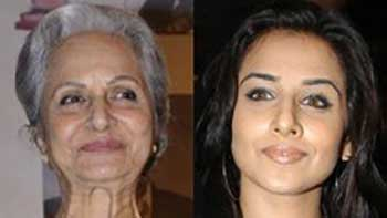 Waheeda Rehman Enthusiastically Talks About Vidya Balan