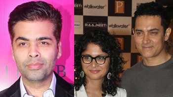 Aamir Khan, Kiran Rao to sip \'Koffee With Karan\'