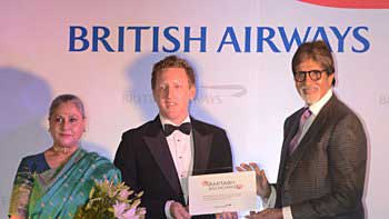 Amitabh Bachchan gets honoured by British Airways