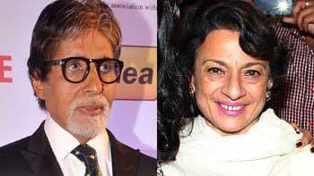 Amitabh Bachchan presented Filmfare Lifetime Achievement Award to Tanuja