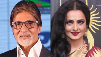 Amitabh Bachchan, Rekha honoured by \'Dadasaheb Phalke Award\'