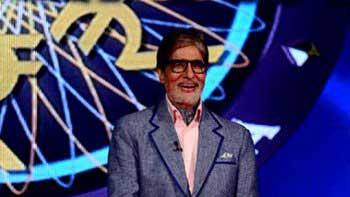 Amitabh Bachchan shoots promos for 8th season of \'Kaun Banega Crorepati\'