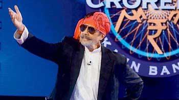 """Amitabh Bachchan turns \""""Lallan Bhaiya\"""" on KBC Grand Finale"""
