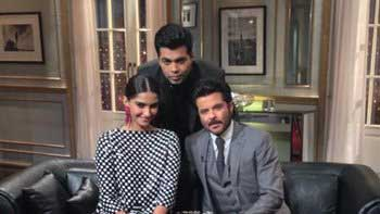Anil Kapoor, Sonam Kapoor to have \'Koffee With Karan\'