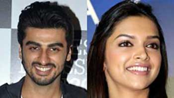 Arjun and Deepika coming up with an Indo-English movie 'Finding Fanny'
