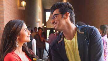 Arjun Kapoor, Alia Bhatt shoot '2 States' song at IIM Ahmedabad