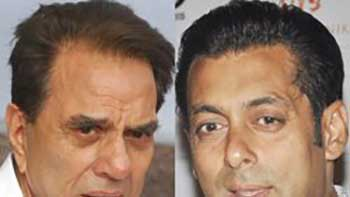 Dharmendra finds his reflection in Salman Khan