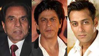 Dharmendra wants Shahrukh and Salman to work in his next