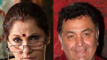 Dimple Kapadia arranges special screening of \'What The Fish\' for Rishi Kapoor