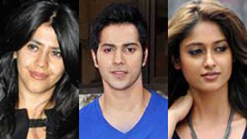 Ekta ropes in Varun and Ileana in her next