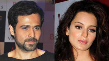 Emraan and Kangana sweating hard for \'Ungli\'