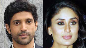 Farhan Akhtar to romance Kareena Kapoor in next