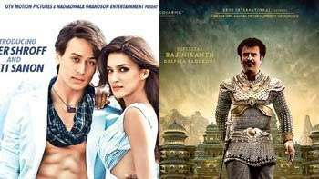 First Day Box Office Collection of 'Heropanti' and 'Kochadaiiyaan'