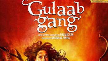 First Look Poster of \'Gulaab Gang\' Unleashes!
