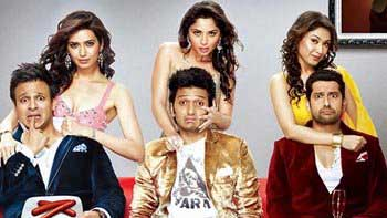 First Weekend Box Office Collection of \'Grand Masti\'