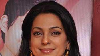 Juhi Chawla exposing her grey shades in 'Gulab Gang'