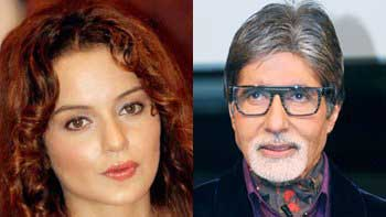 Kangana Ranaut breaks into tears upon receiving handwritten letter from Amitabh Bachchan
