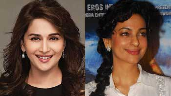 Madhuri Dixit and Juhi Chawla on \'Koffee With Karan\'