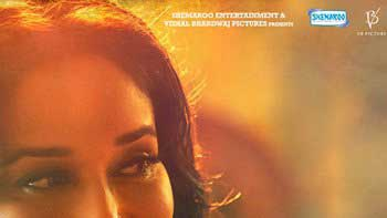 New Poster of \'Dedh Ishqiya\' presents stunning Madhuri Dixit!