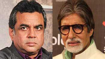 Paresh Rawal to essay Amitabh Bachchan\'s son in \'102 Not Out\'