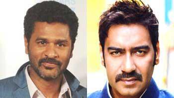 Prabhu Deva\'s \'Action Jackson\' with Ajay Devgn