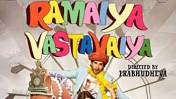 Ramaiya Vastavaiya posters oozing colors!