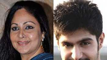Rati Agnihotri as on-screen mother to her son
