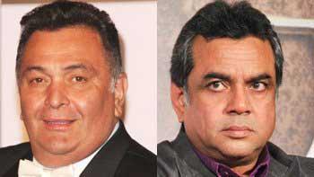 Rishi Kapoor and Paresh Rawal to reunite after 20 years