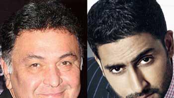 Rishi Kapoor to essay Abhishek Bachchan\'s father in \'Mere Apne\'