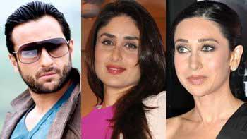 Saif Ali Khan, Kareena Kapoor and Karisma Kapoor in a film together!