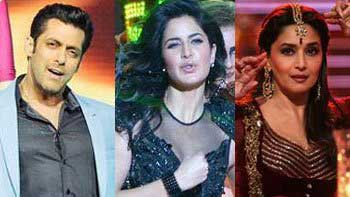 Salman Khan, Katrina Kaif, Madhuri Dixit performed at 59th Filmfare Awards!