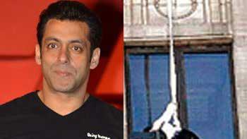Salman Khan's dare-devil stunt from 40th floor for 'Kick'!