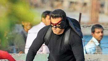 Salman Khan shoots at Chandni Chowk in Delhi for 'Kick'
