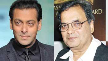 Salman Khan takes lecture at Subhash Ghai's Whistling Woods