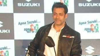 Salman Khan to gift a Suzuki bike to a fan