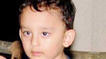 Sanjay Dutt\'s 3-year old son Shahraan to make his acting debut
