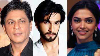 Shah Rukh Khan\'s \'Dubai bash\' with Ranveer Singh and Deepika Padukone